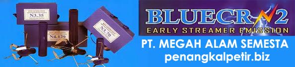 penangkal petir blue crn2